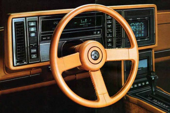 Роскошные интерьеры автомобилей 1980-х годов