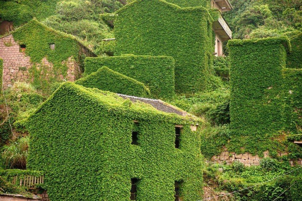 Заброшенная деревня в китайском архипелаге Шенгси