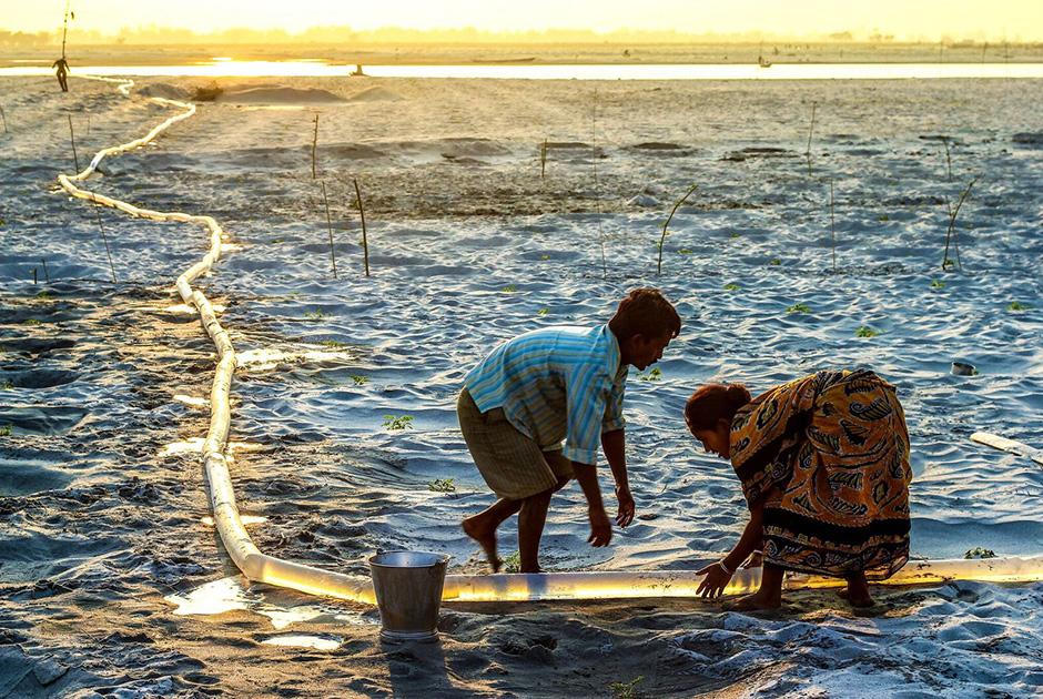 Люди уничтожают красоту природы, порождая нищету и катаклизмы