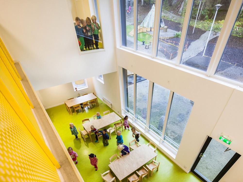 Современный детский сад в Швеции