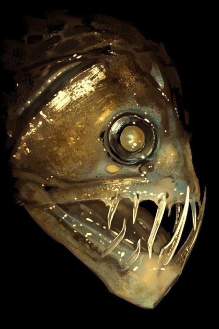 Невероятные монстры из океанских глубин