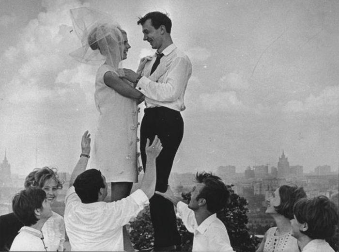 Советская романтика на черно-белых снимках