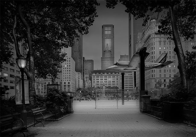 Жутковатая серия снимков ночного Центрального парка в Нью-Йорке
