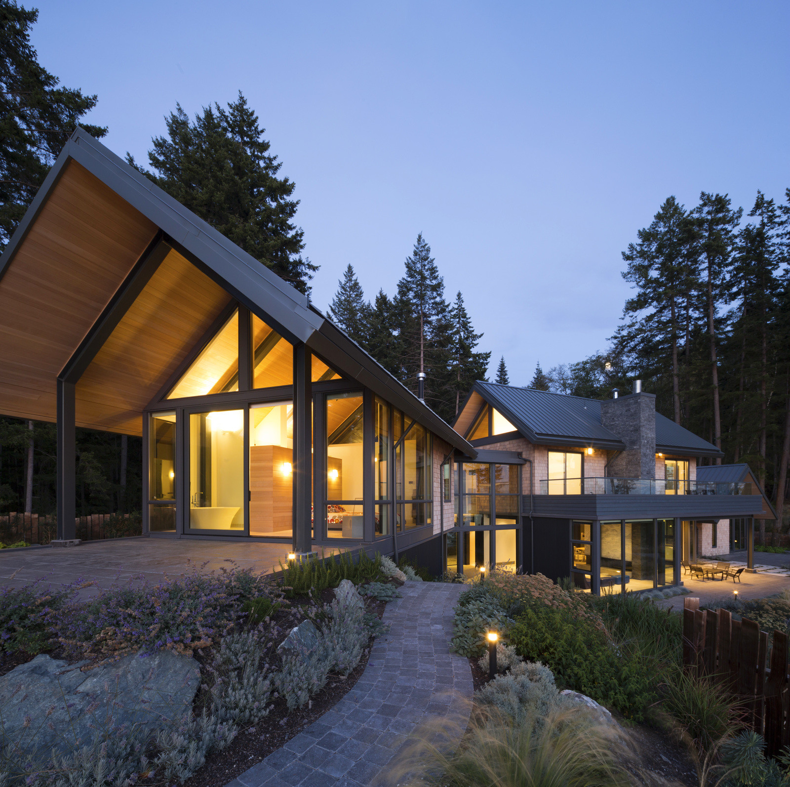Дизайн и архитектура загородного дома в Канаде