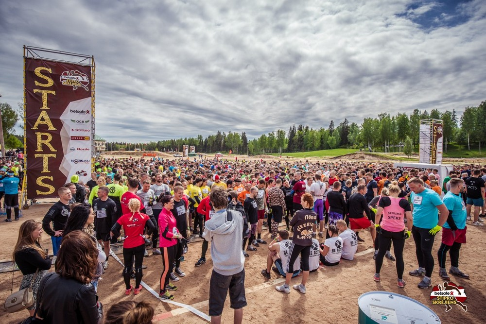 Strong race in Latvia