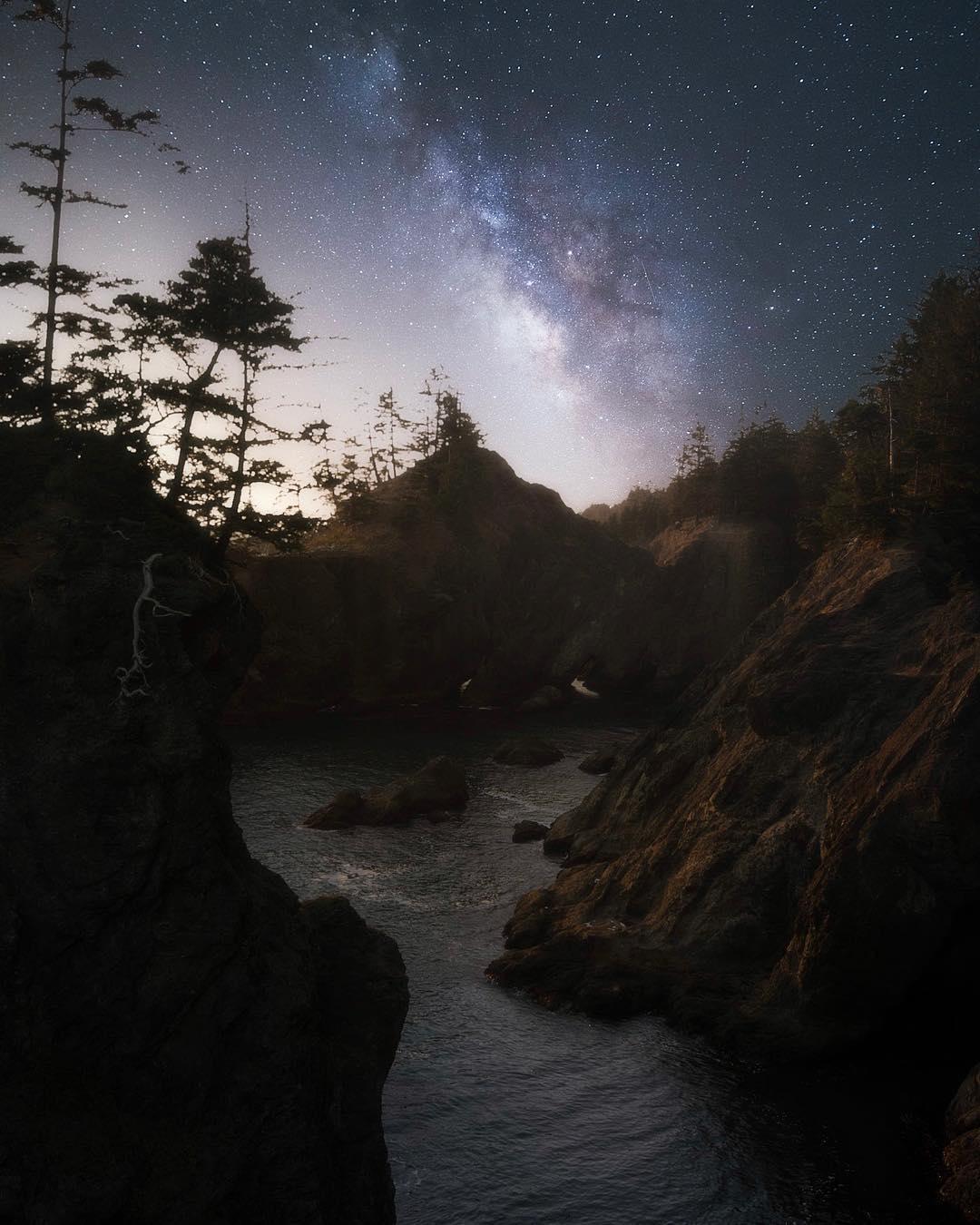 Ночные фото природы