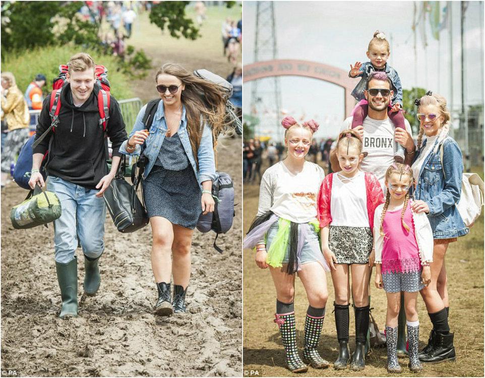 Музыкальный фестиваль в болоте