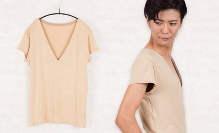 В Японии придумали одежду, скрывающую мужские соски