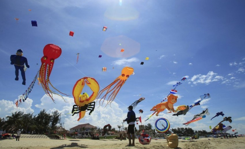 Международный фестиваль воздушных змеев во Вьетнаме