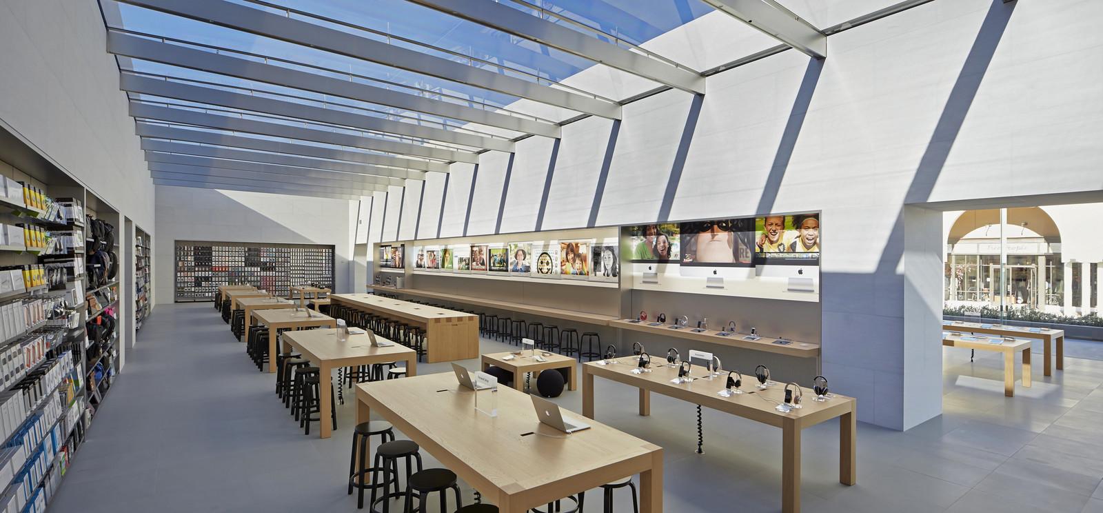Новый магазин Apple в Калифорнии