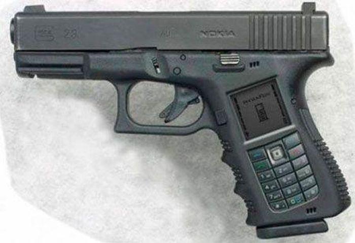 Странные виды огнестрельного оружия