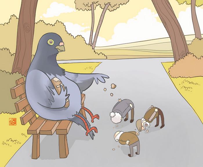 Если бы люди и животные поменялись местами
