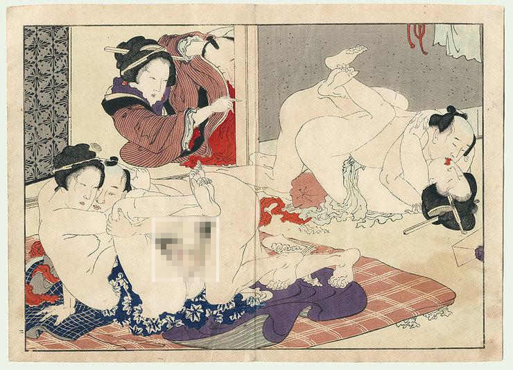 японские проститутки 15 века