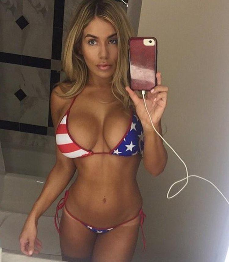 Красивая эротика и 18+ Красивые фотографии : Как американки празднуют 4 июля