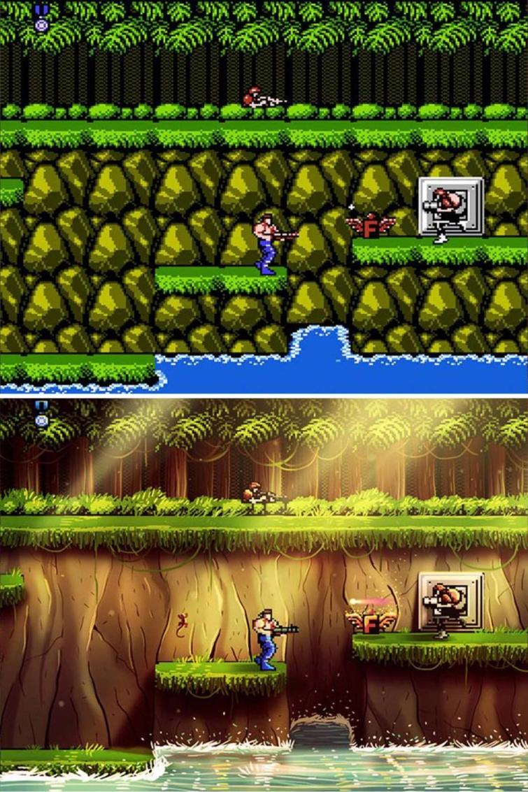 Классические видеоигры в новом обличии