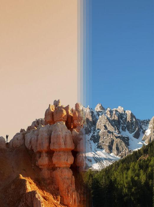 Поразительные сходства мест из разных уголков Земли