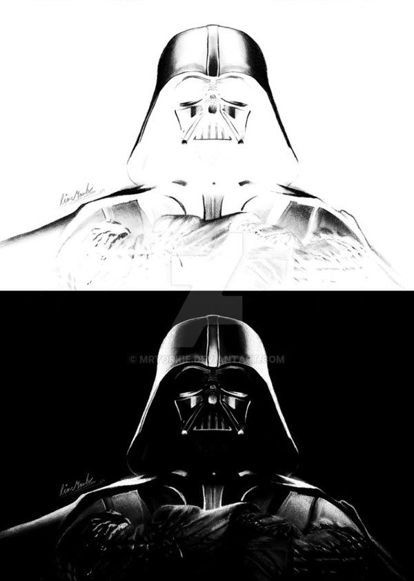 Инвертированные рисунки Лиама Йорка