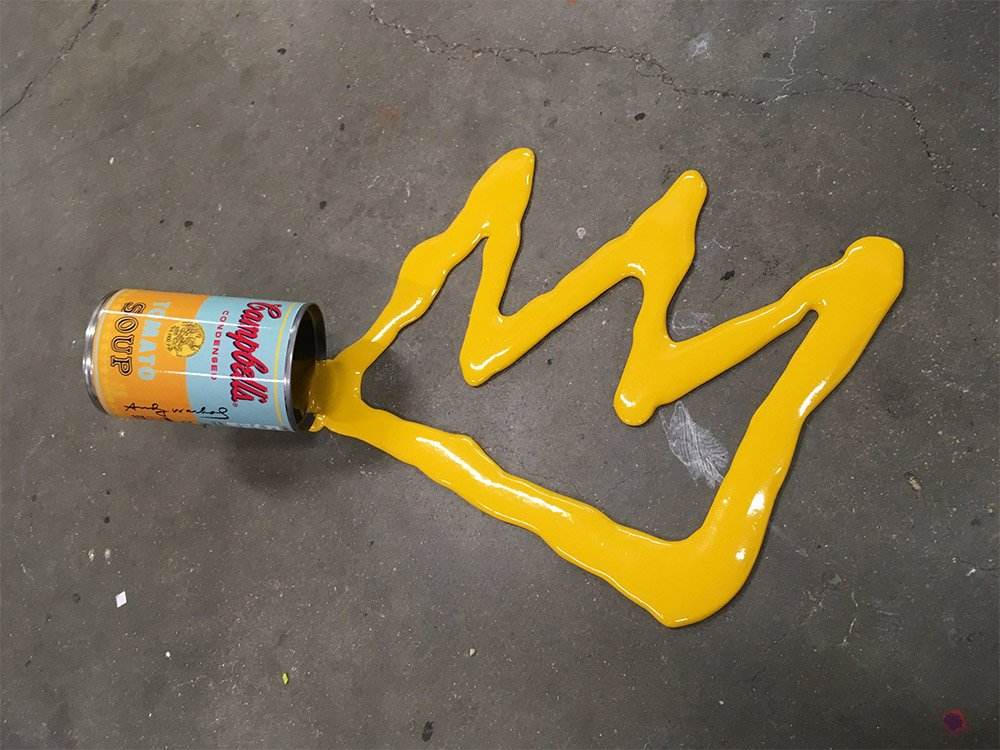 Разлитая краска от Джо Судзукки
