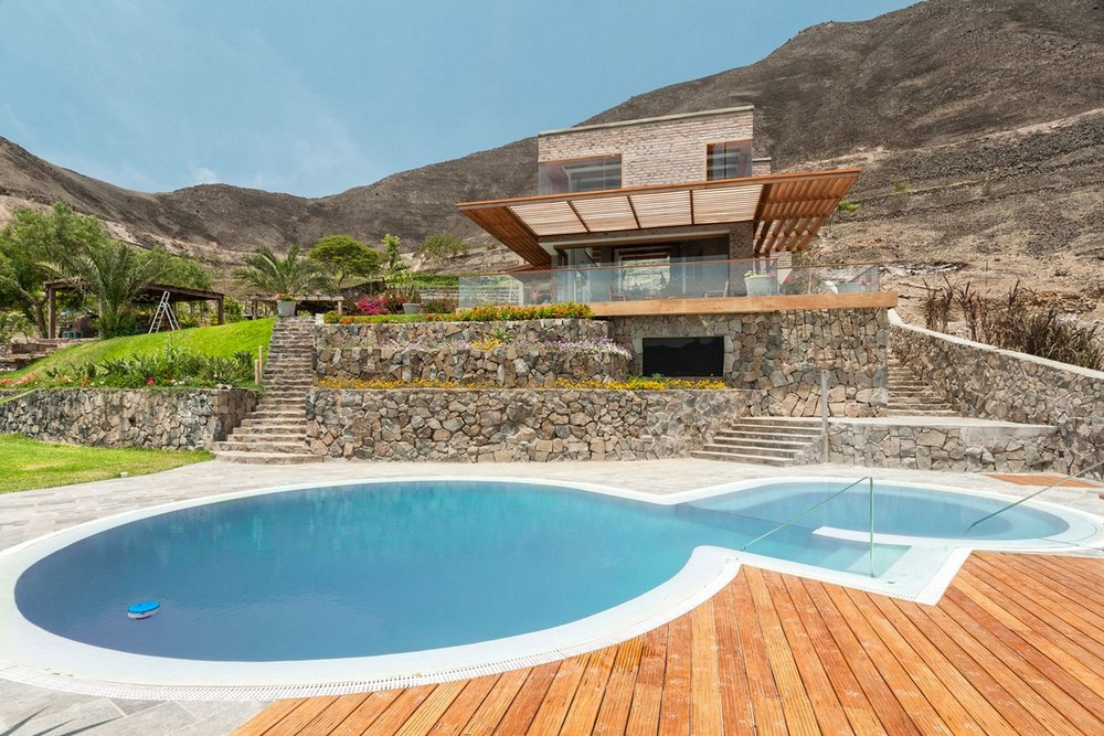 Частная резиденция в Перу с видом на долину