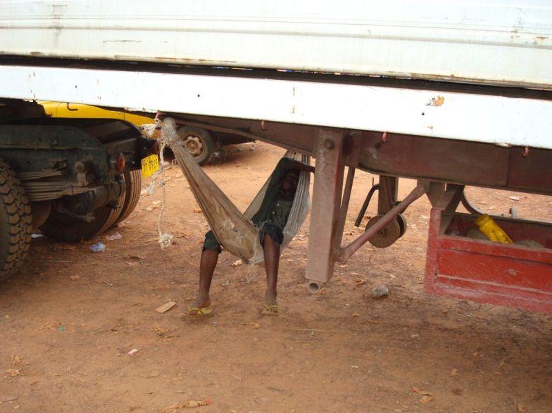 Особенности пользования транспортом в Западной Африке