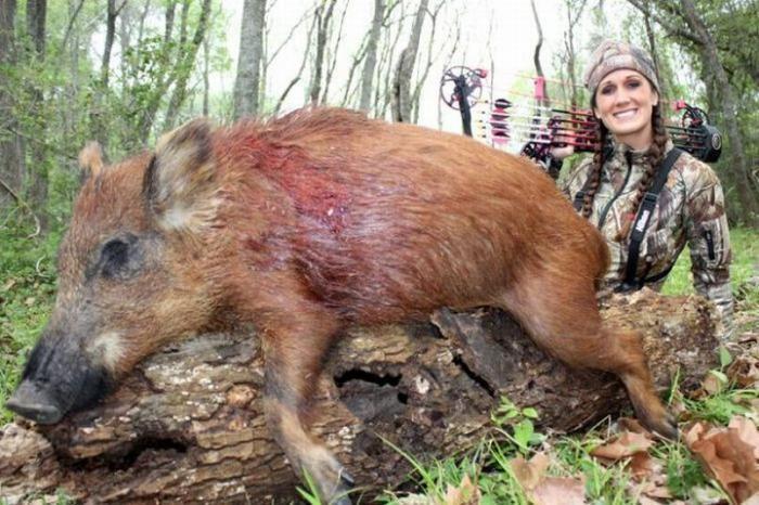 Профессиональный охотник Мелисса Бахман