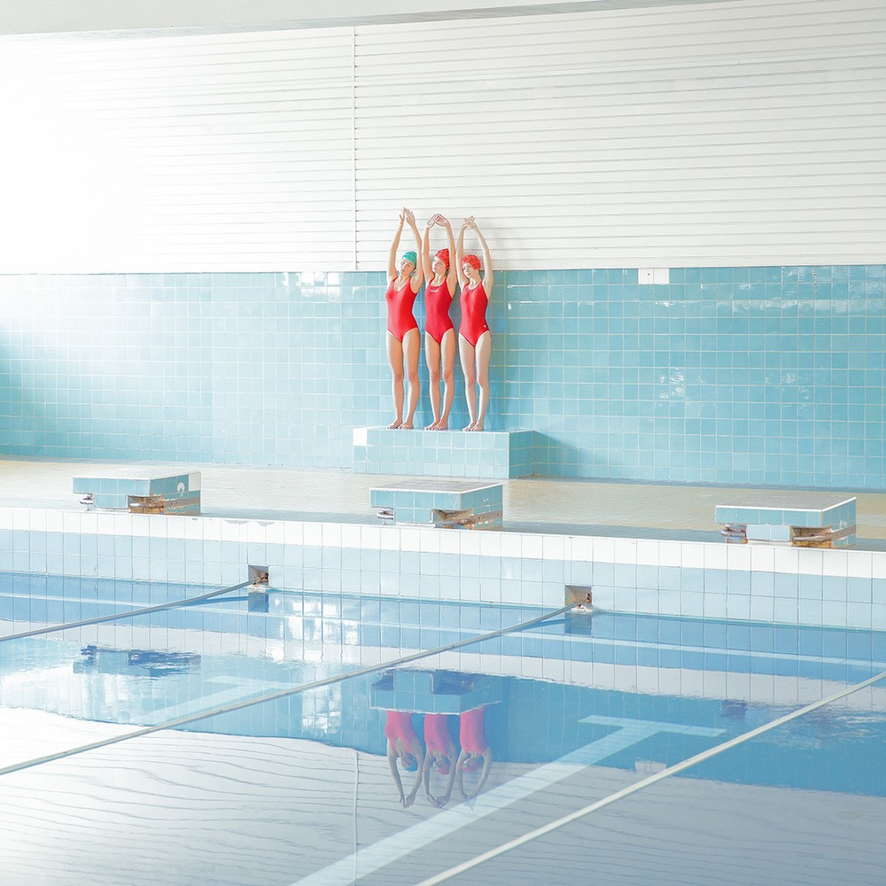 Художественные фотоманипуляции Марии Сварбовой из бассейнов