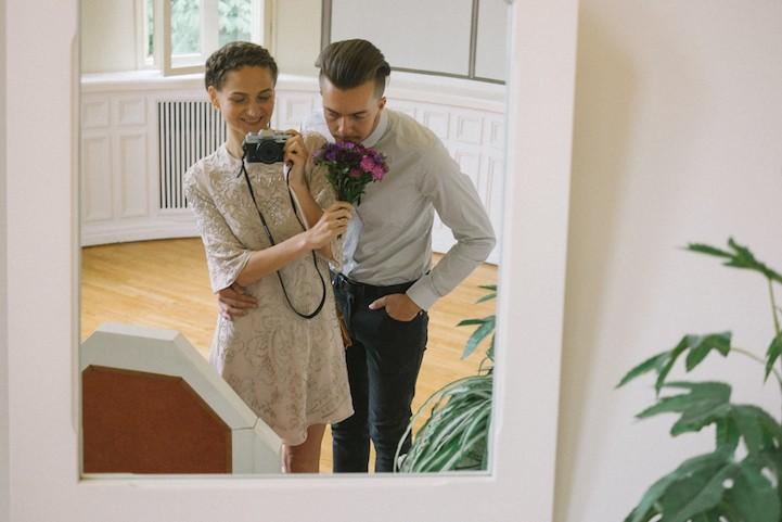 Фотограф из Эстонии сняла собственную свадьбу