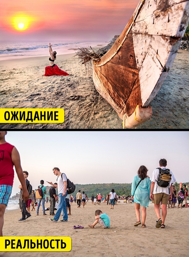 15 туристических мест, которые мы представляли себе совершенно иначе