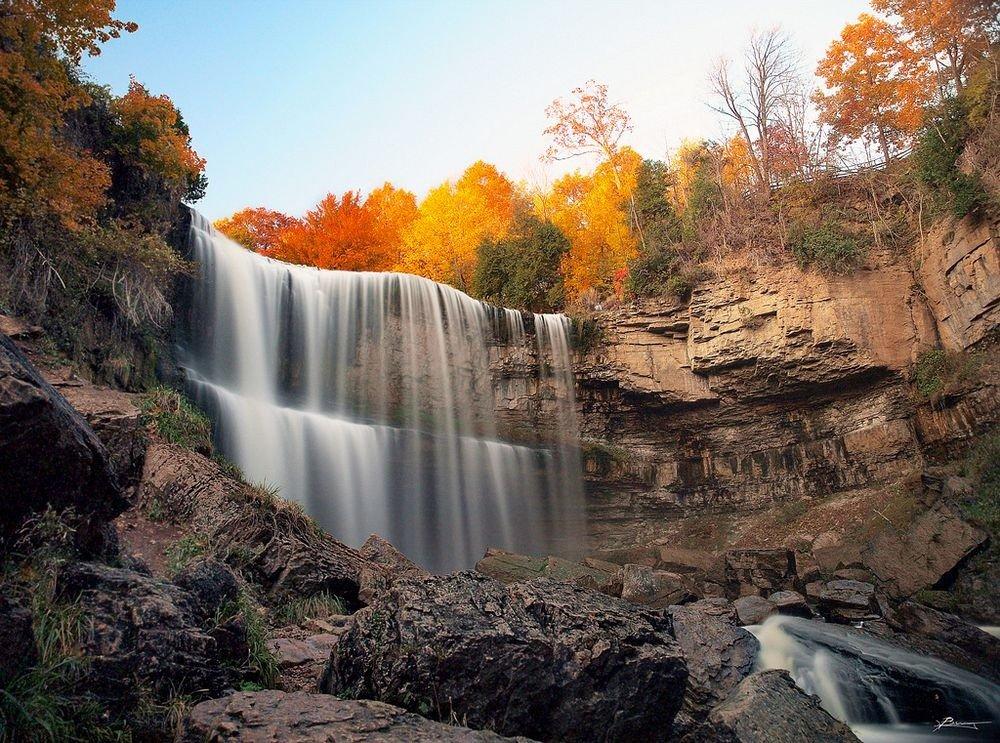Гамильтон — мировая столица водопадов