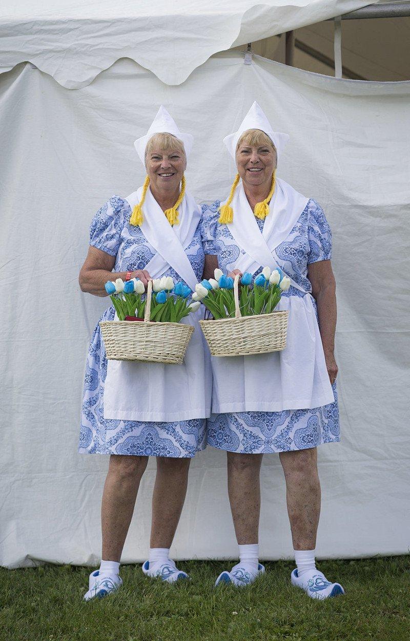 Ежегодный фестиваль близнецов Twins Day в Огайо