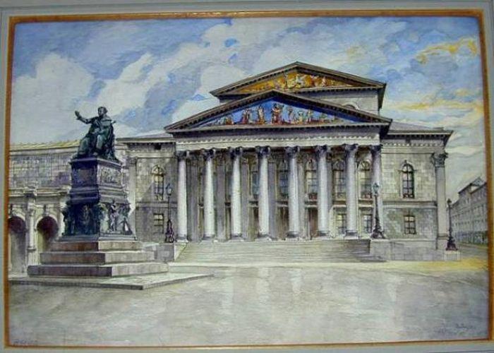 Картины Адольфа Гитлера