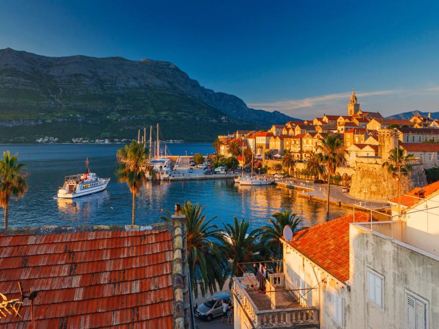 Красота живописных островов Хорватии