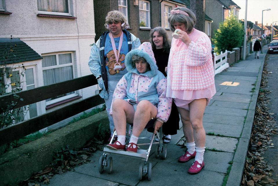 Малые дети во взрослом теле на снимках Полли Борланд