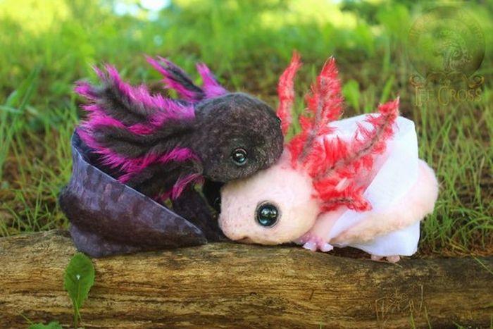 Плюшевые детеныши необычных животных