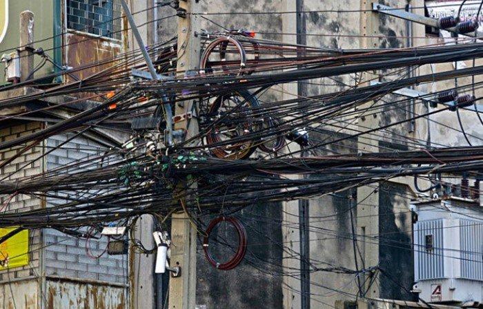 Запутанные провода или ад для перфекциониста