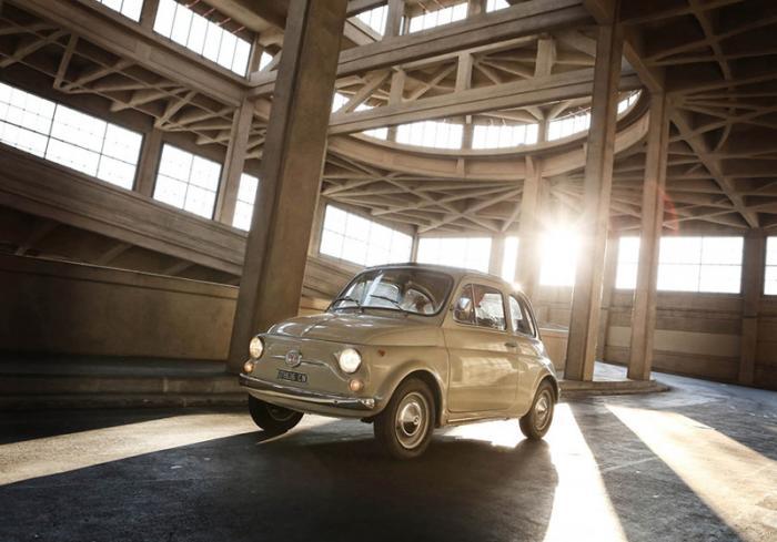 Fiat 500 признали произведением искусства