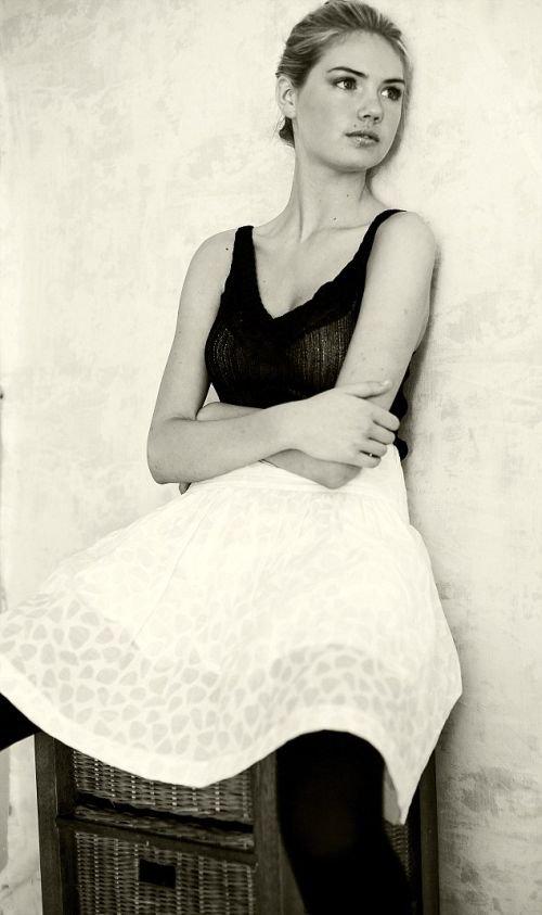 Фотосессия 15-летней Кейт Аптон