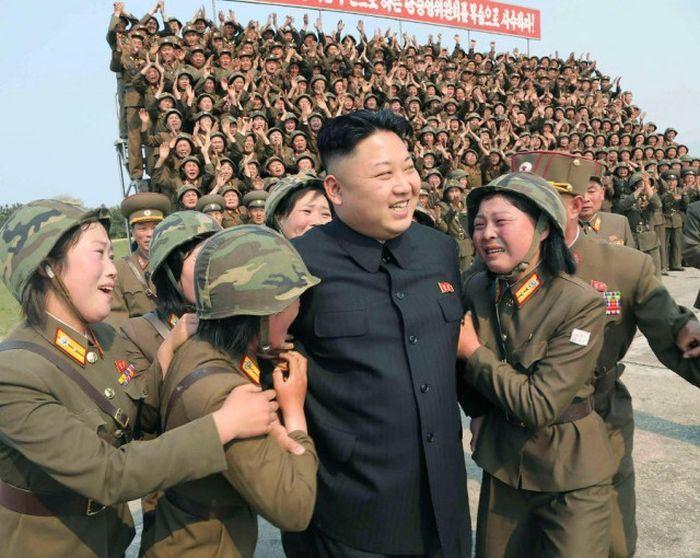 Красивые девушки Северной Кореи