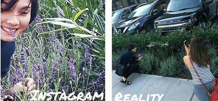 Красивые снимки для соцсетей в реальности