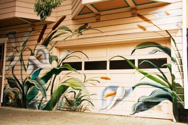 Нескучные ворота для гаража
