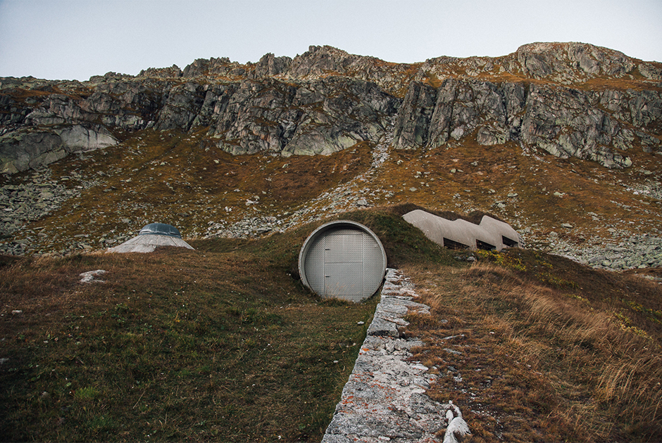 Секретные бункеры Второй мировой войны в Альпах