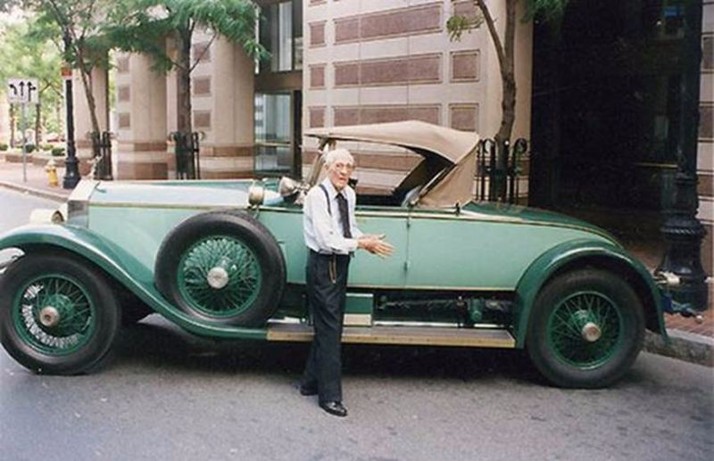 Каково это: ездить 78 лет на одной и той же машине