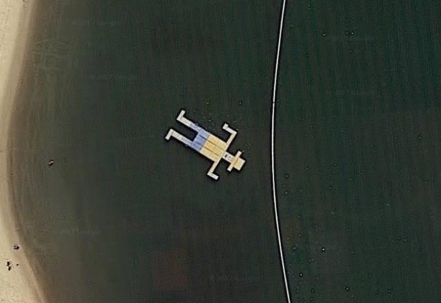 Самые необычные места на картах Google