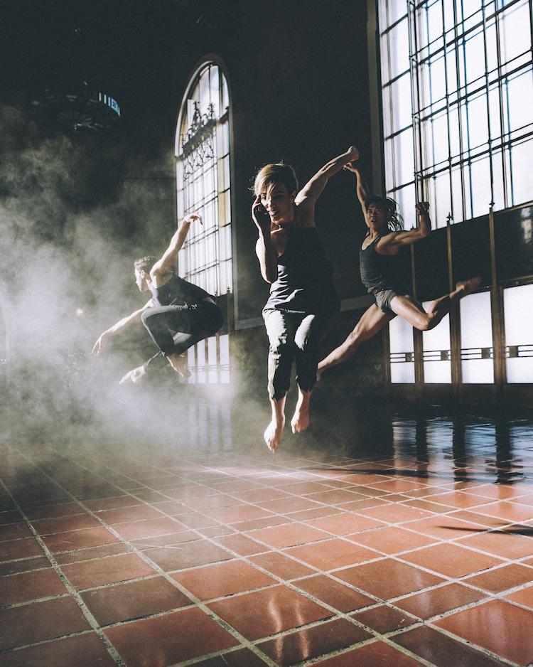 Красота танцевального искусства в проекте Cameras and Dancers