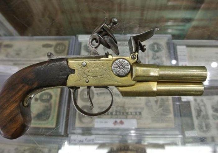 Необычные примеры кремнёвого оружия