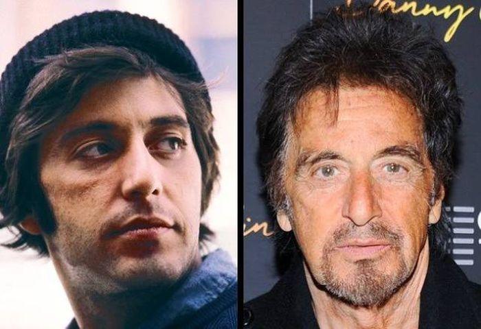 Знаменитые актеры в молодости и сейчас