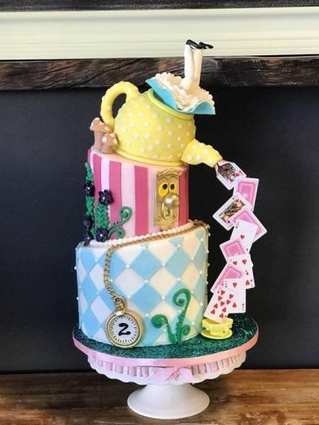Впечатляющие торты, которые жалко есть