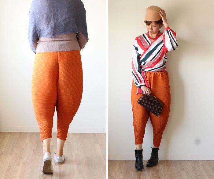 Женские штанишки, превращающие ноги в куриные окорочка