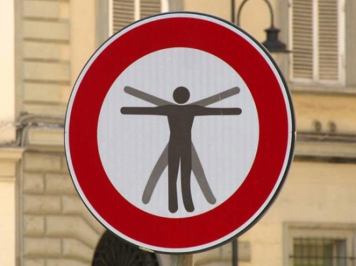 Дорожные знаки от Клерта Абрахама