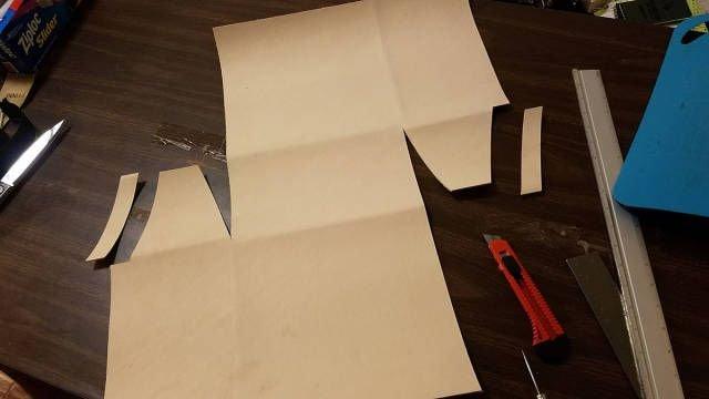 Фотоотчет создания подарочной сумки из кожи